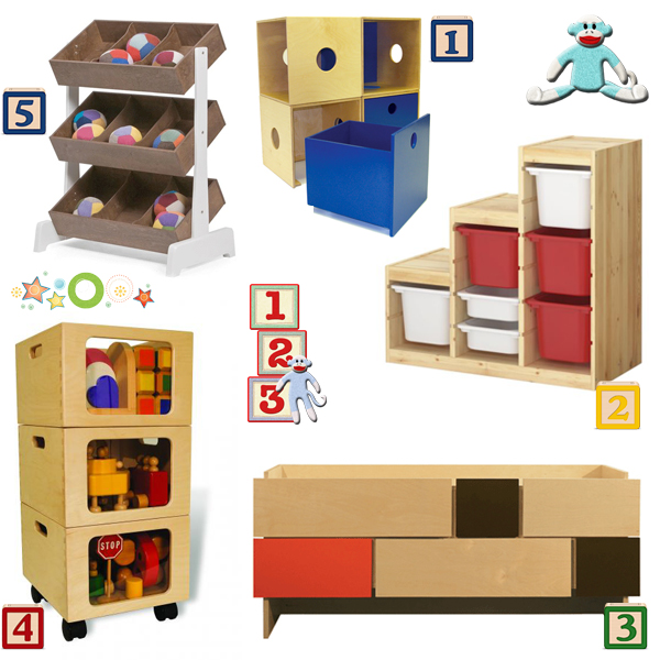 Toy storage 10 ways to get organized after the holidays - Mobile trofast ikea ...