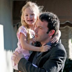 Ben Affleck Takes His Girls Out To The Farmer's Market