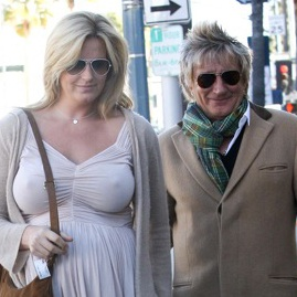 Rod Stewart & Wife Penny Welcome A Baby Boy