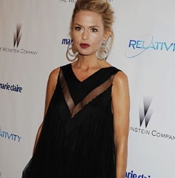 Rachel Zoe Shines At The Golden Globes