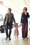 Keith Urban and Nicole Kidman with daughter Sunday
