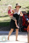 Naomi Watts and son