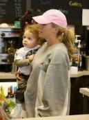 Kendra Wilkinson & her son Hank