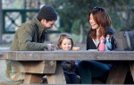 Alyson Hannigan with husband Alexis and daughter Satyana Denisof