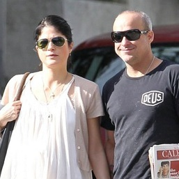 Selma Blair and Jason Bleick Stroll in LA