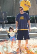 Adam Sandler with daughter Sunny