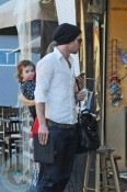 Cam Gigandet and daughter Everleigh
