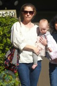 Rebecca Gayheart with daughter Billie