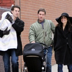 Bethenny Frankel and Her Family Bundle Up For a Stroll in NYC