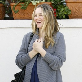 Alicia Silverstone Is Pregnant and Showing!