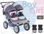 "2011 Valco Baby ""Boy Meets Girl"" Tri Mode EX Twin"