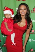 Christina Milian with daughter Violet