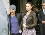 Orland Bloom and Miranda Kerr in Paris
