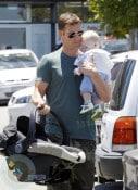 Kris Smith and son Ethan