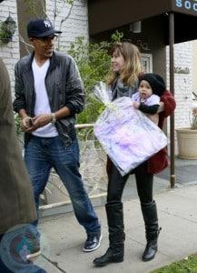 Ellen Pompeo and Chris Ivery with dauhter Stella Luna