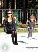 Jessica Alba and daughter Honor Marie Warren