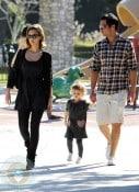 Jessica Alba with husband Cash Warren and daughter Honor Marie Warren