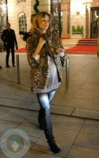 Eva Herzigova Leaving Ritz Carlton Paris