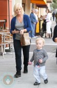 Amy Poehler and son Archie