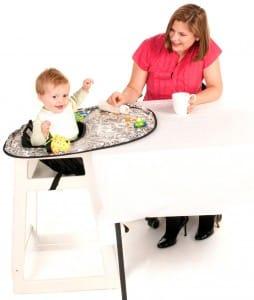 Neatnik Saucer with baby