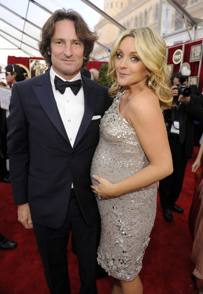 Robert Godley And Jane Krakowski Growing Your Baby