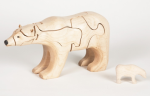 Wooden 3-D Polar Bear Puzzle