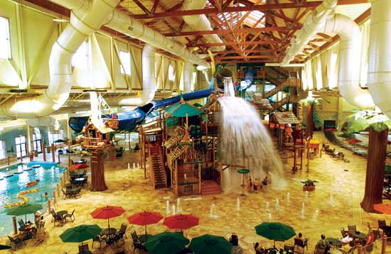 Travel Month ~ 8 Cool Indoor Waterpark Hotels!