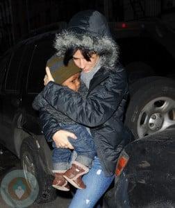 Sandra Bullock and son Louis Bardo