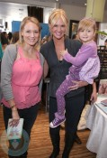 Singer Jewel with Nancy O'dell and daughter Ashby