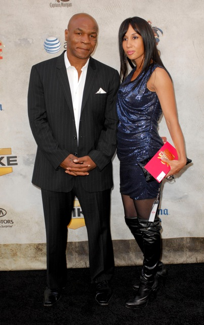 Mike Tyson And His Wife Lakiha Quot Kiki Quot Spicer Tyson