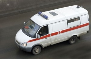 Ambulance enroute