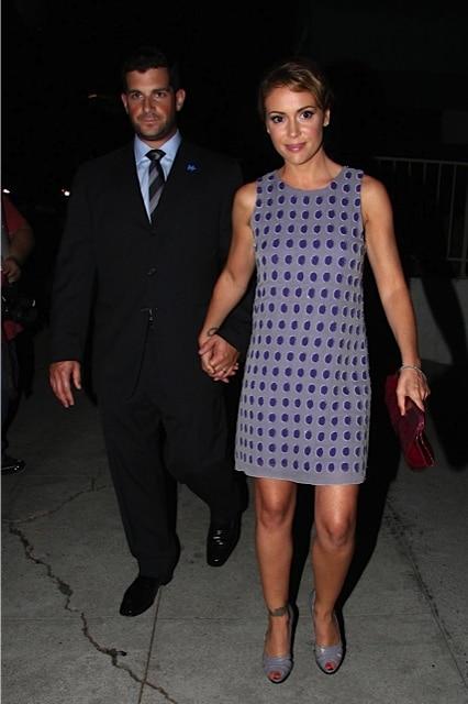 Alyssa Milano And Husband David Bugliari Growing Your Baby