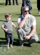 Kevin Costner and son Hayes