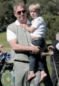 Kevin Costner and son Cayden