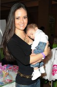 Danica McKellar with son Draco