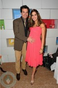 Antonio Sabato and pregnant girlfriend Cheryl Nunes