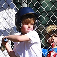 Kevin Federline Totes His Crew To Sean Preston's Baseball Game