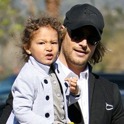 Daddy Date! Gabriel Aubry Spends The Afternoon With Nahla