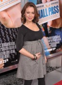 Alyssa Milano At Hallpass Premiere