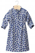 BLOSSOM - Girls'viscose three quarter sleeved dress