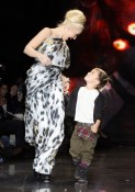 Gwen Stefani & Kingston Rossdale at the L