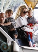 Britney Spears with sons Sean Preston & Jayden James