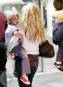 Britney Spears and son Jayden James