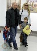Britney Spears with sons Sean Preston & Jayden James