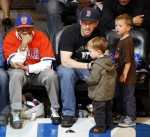 Mark Wahlberg with sons Brendan and Michael