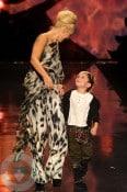 Gwen Stefani & Kingston Rossdale at the L
