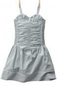 MINNIE- Girls'smocked strappy dress