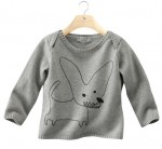 TED - Babies'long-sleeved printed sweater