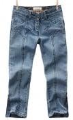 TWINKLE- Girls'skinny jeans with star yoke