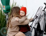 Rebecca Gayheart out with daughter Billie Beatrice in Beverly Hills